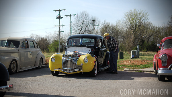 Cory McMahon at the SWMO 2014 Hot Rod Hundred