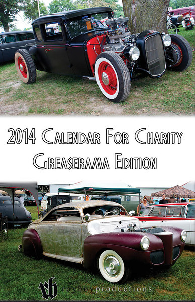 2014 Calendar For Charity Greaserama