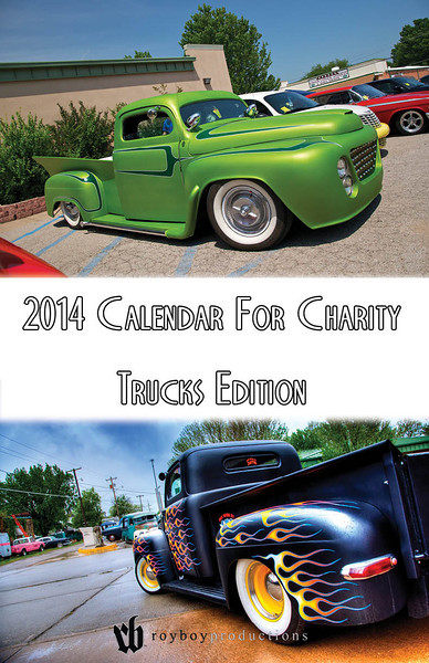 2014 Calendar For Charity Trucks