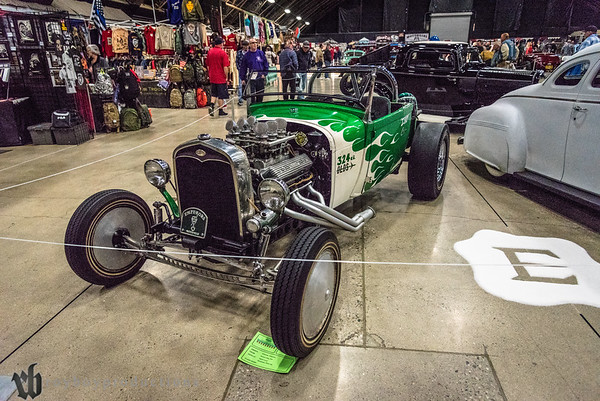 1929; 2017; CA; California; Charles Chavez; Ford; GNRS; Grand National Roadster Show; Pick up; Pomona; Roadster 1929 Ford Roadster Pick up owned by Charles Chavez