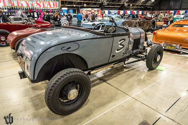 1929; 2017; CA; California; Fabian Valdez; Ford; GNRS; Grand National Roadster Show; Pomona; Roadster 1929 Ford Roadster owned by Fabian Valdez