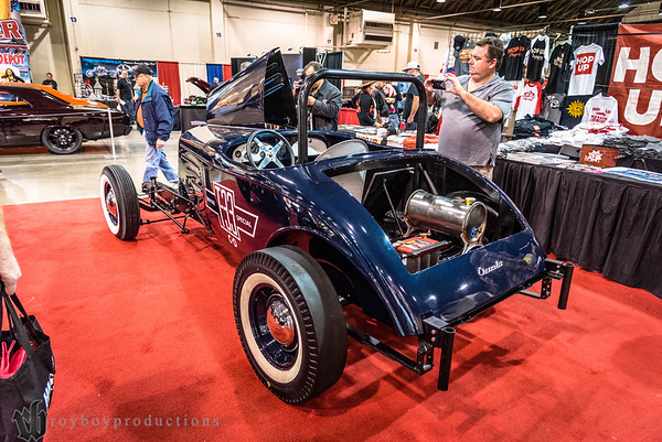 1933; 2017; CA; Cal Kennedy; California; Chevy; GNRS; Grand National Roadster Show; Nick